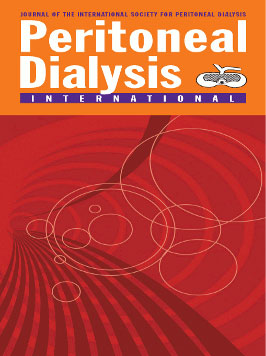 Peritonel Dialysis Iternational cover